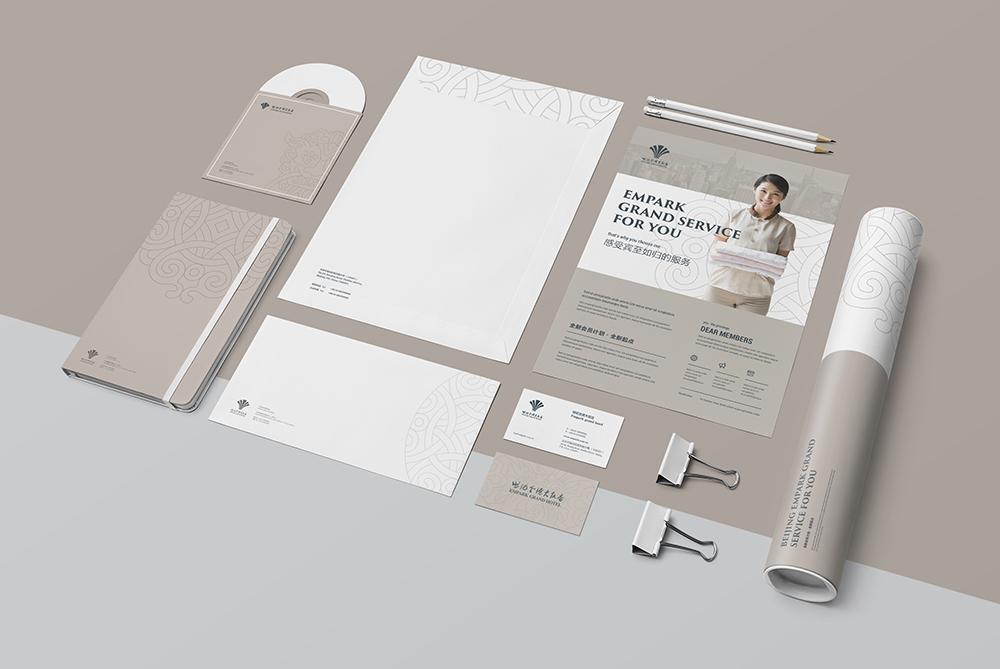 酒店VI设计完整版目录与案例欣赏