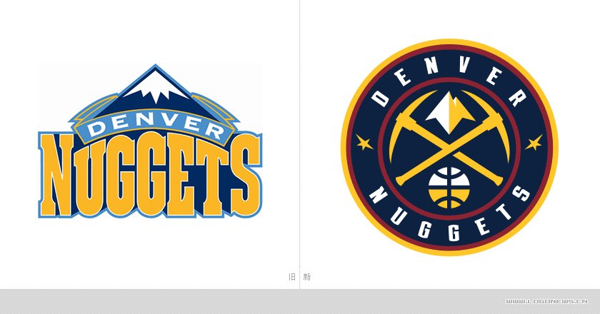 "logo设计推荐-""丹佛掘金""采用球队新lggo"