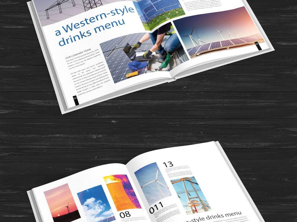 中国风——给张家港画册设计营造出一种高级感!