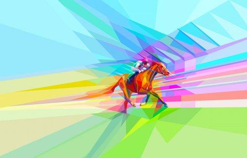 张家港广告公司插图设计分享-为阿斯科特赛马场带来色彩