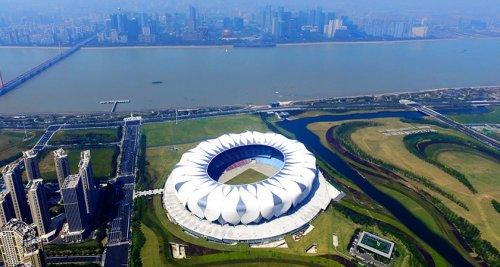 """2022年杭州第十九届亚运会会徽揭晓标志设计作品""""潮涌"""""""