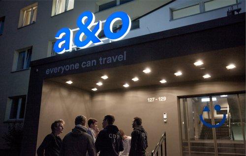 A&O 标志设计精髓-让旅行住酒店很容易。